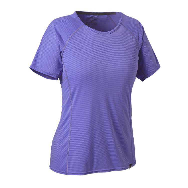 W'S CAP LW T-SHIRT, Violet Blue (VLTB)