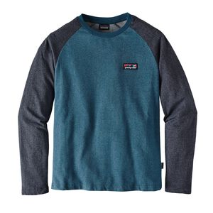 M'S BOARD SHORT LABEL LW CREW SWEATSHIRT, Big Sur Blue (BSRB)