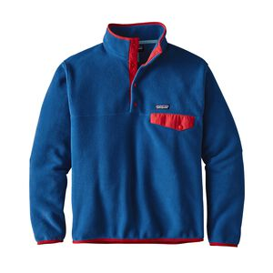 M's Lightweight Synchilla® Snap-T® Pullover - European Fit, Superior Blue (SPRB)