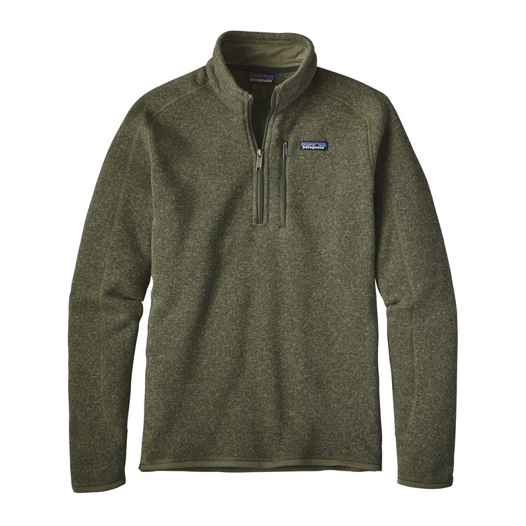 M'S BETTER SWEATER 1/4 ZIP, Industrial Green (INDG)