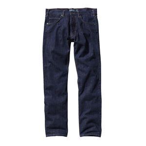 M's Straight Fit Jeans - Long, Dark Denim (DDNM)