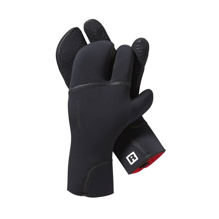R5 THREE FINGER MITTS, Black (BLK)