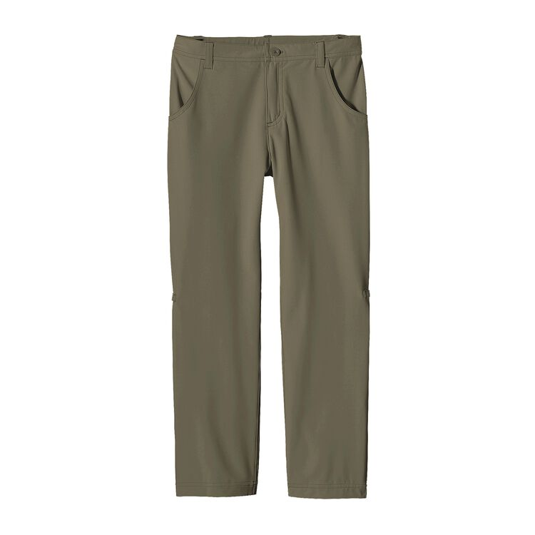 GIRLS' HAPPY HIKE PANTS, Light Bog (LBOG)