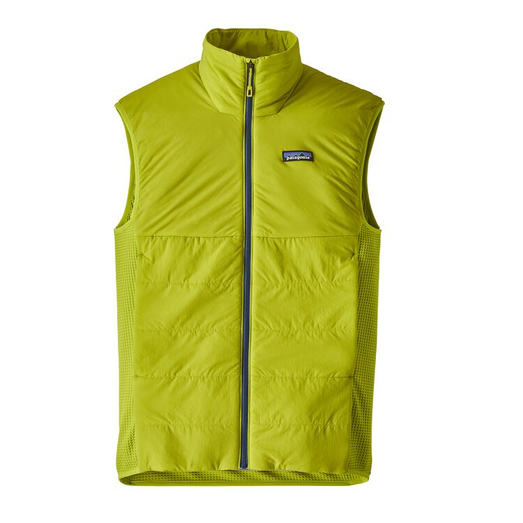 M'S NANO-AIR LIGHT HYBRID VEST, Light Gecko Green (LEK)