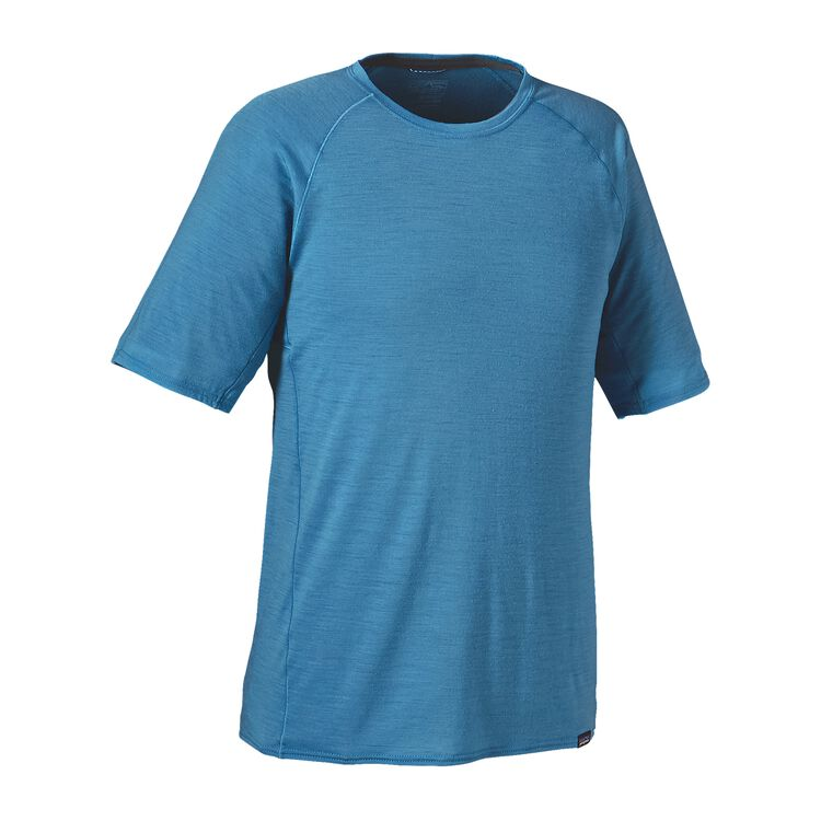 M'S MERINO LW T-SHIRT, Catalyst Blue (CTYB)
