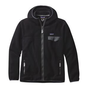 M'S LW SYNCH SNAP-T HOODY, Black (BLK)