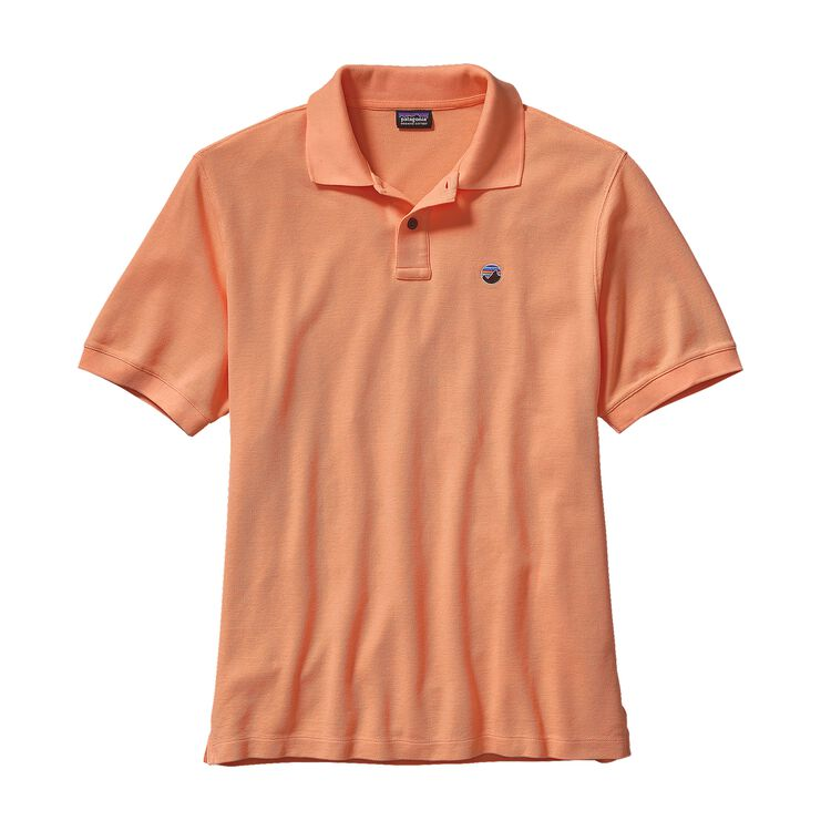 M'S FITZ ROY EMBLEM POLO, Lite Cusco Orange (LCSO)