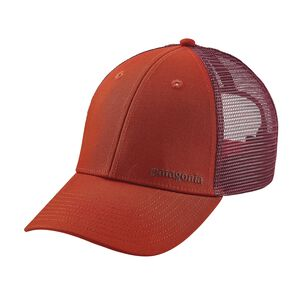 Small Text Logo LoPro Trucker Hat, Roots Red (RTSR)