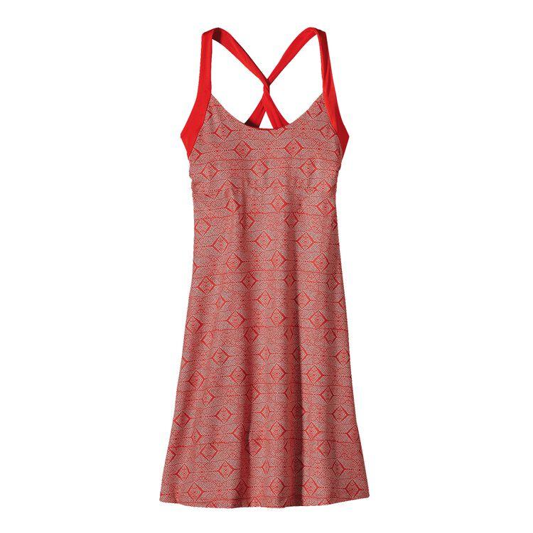 ウィメンズ・モーニング・グローリー・ドレス, Diamante: Turkish Red (DETR)