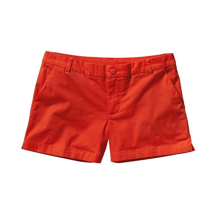 W'S STRETCH ALL-WEAR SHORTS - 4 IN., Turkish Red (THR)