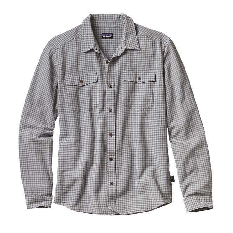 M'S L/S STEERSMAN SHIRT, Cholla: Feather Grey (CHLF)