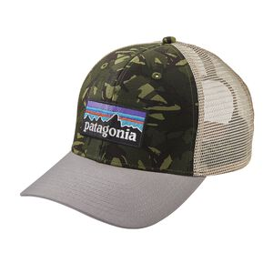 P-6 Logo Trucker Hat, Big Camo: Fatigue Green w/Drifter Grey (BCDG)