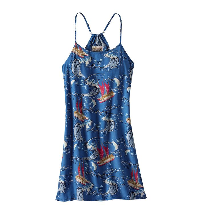 W'S LIMITED EDITION PATALOHA DRESS, Voyage: Superior Blue (VYSB)
