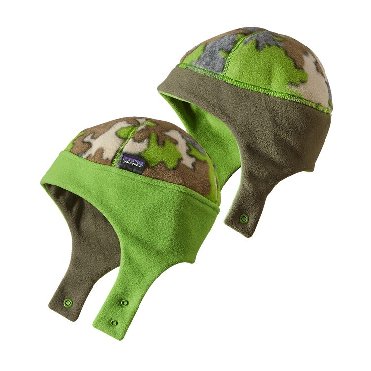 BABY REVERSIBLE SYNCH HAT, Sycamore Camo: Hydro Green (SCHG)