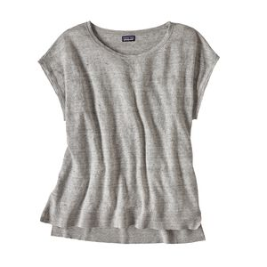 W's Lightweight Linen Top, Tailored Grey (TGY)