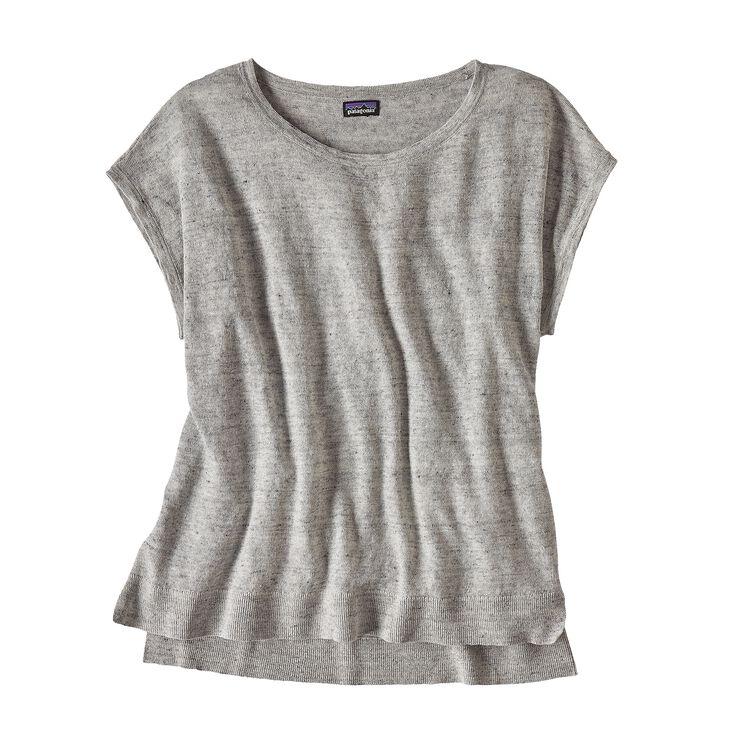 ウィメンズ・ライトウェイト・リネン・トップ, Tailored Grey (TGY)