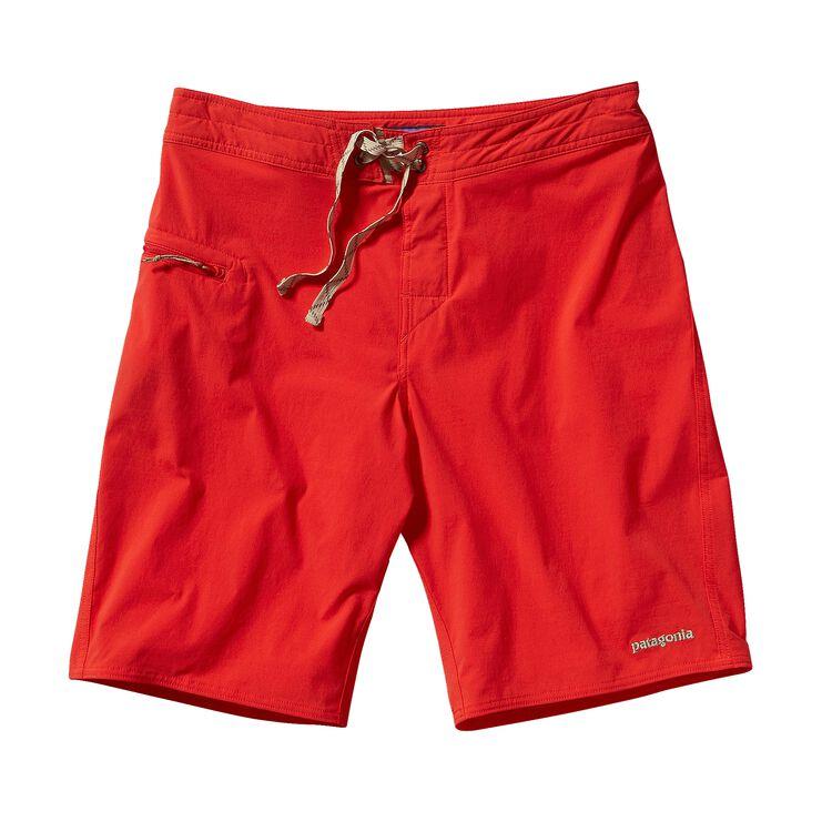 メンズ・ストレッチ・ウェーブフェアラー・ボード・ショーツ(53cm), Turkish Red (THR)