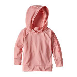ベビー・キャプリーン・シルクウェイト・サン・フーデ, Feather Pink (FEAP)