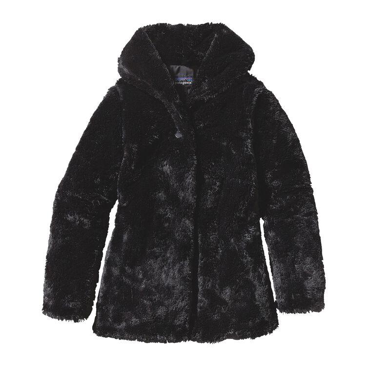 GIRLS' PELAGE JKT, Black (BLK)