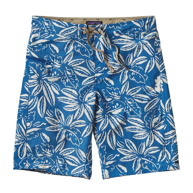 M'S PRINTED WAVEFARER BOARD SHORTS - 21, Tropical: Bandana Blue (TRBB)