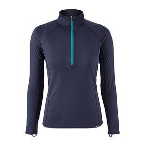 W's Capilene® Lightweight Zip-Neck, Navy Blue w/Elwha Blue (NEWH)