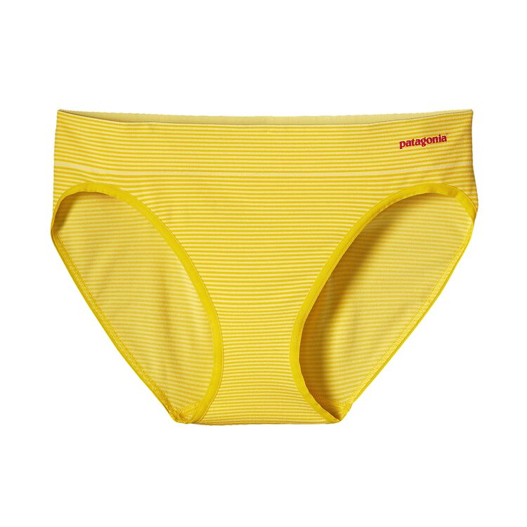 W'S ACTIVE BRIEFS, Teensy Stripe: Blazing Yellow (TYBZ)