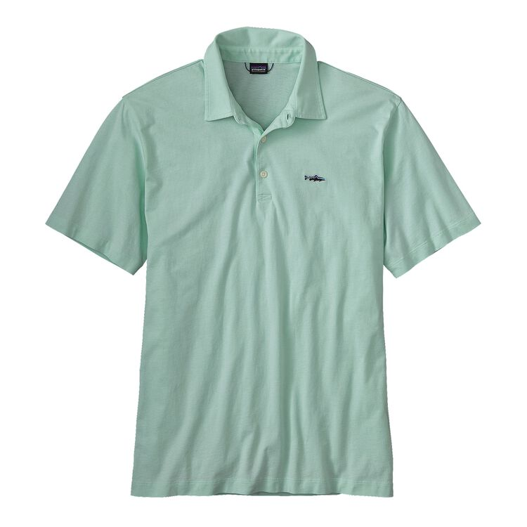 M'S POLO - TROUT FITZ ROY, Lite Distilled Green (LDSG)
