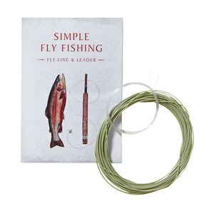 Simple Fly Fishing Line and Leader, Multi-Color (ZOO-181)