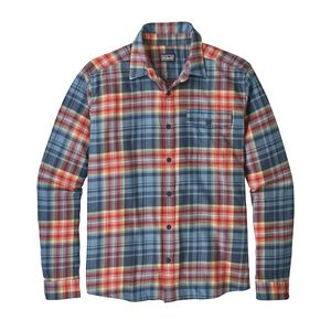 M's Long-Sleeved Lightweight Fjord Flannel Shirt, Rootsy: Railroad Blue (ROOR)
