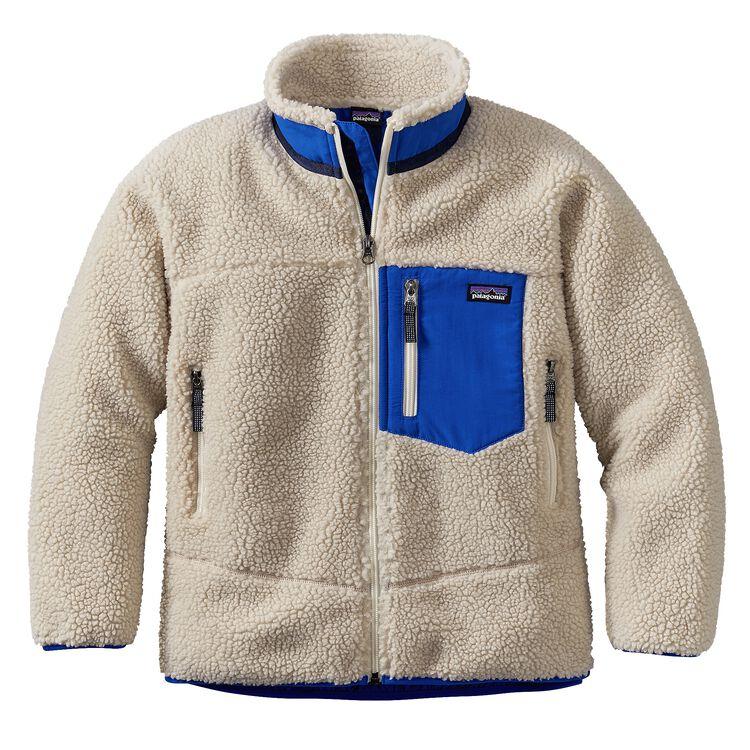 ボーイズ・レトロX・ジャケット, Natural w/Viking Blue (NVK)