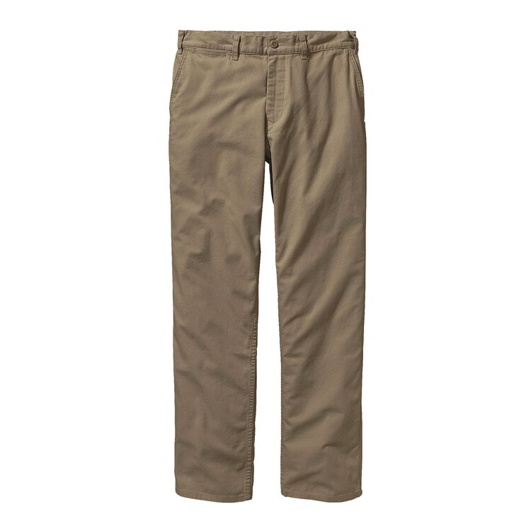 M'S REGULAR FIT DUCK PANTS - LONG, Ash Tan (ASHT)