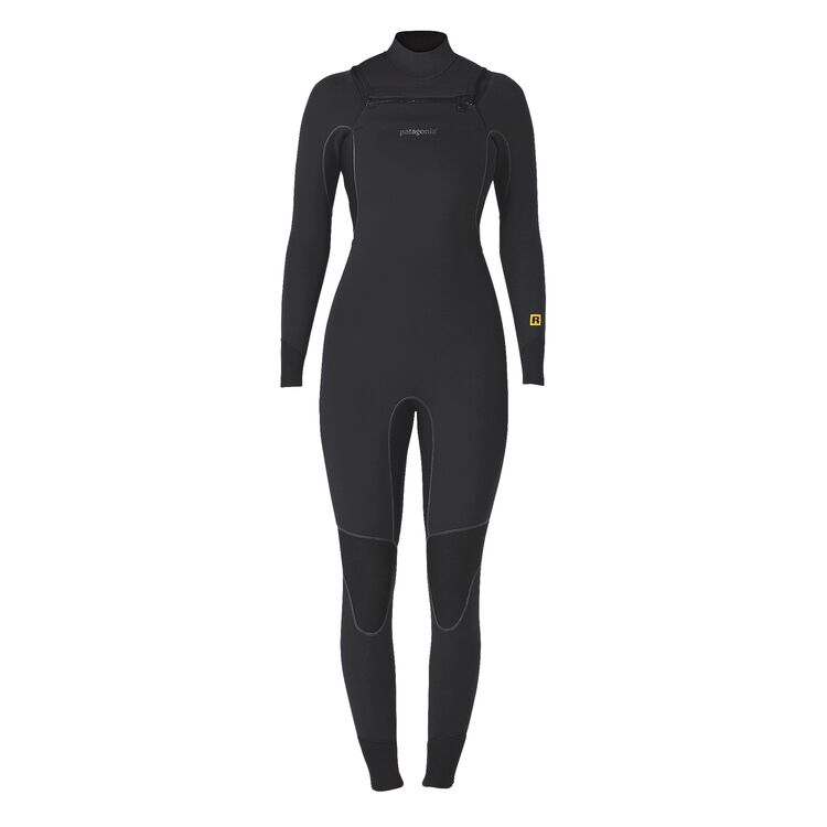 W'S R3 FZ FULL SUIT, Black (BLK)