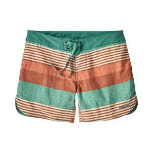"W's Wavefarer® Boardshorts - 5"", Fitz Stripe Texture: Beryl Green (FIZB)"