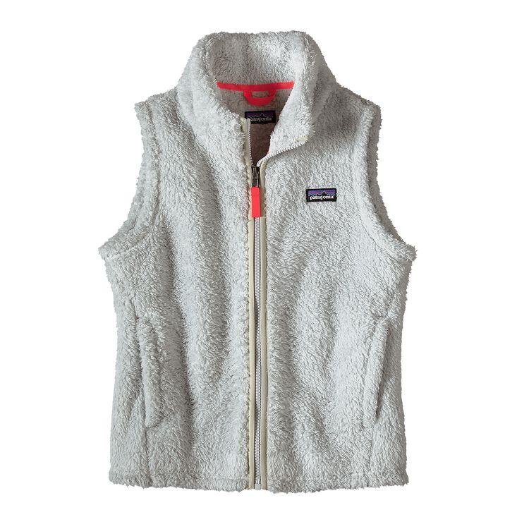 ガールズ・ロス・ガトス・ベスト, Tailored Grey w/Indy Pink (TIYP)