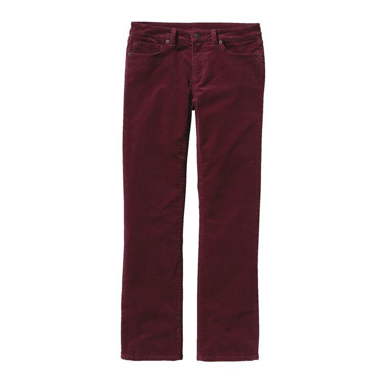 W'S CORDUROY PANTS - REG, Oxblood Red (OXRD)