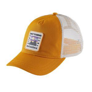 ウィメンズ・リッジ・ライズ・パッチ・レイバック・トラッカー・ハット, Ysidro Yellow (YSDY)