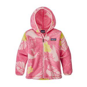 ベビー・シンチラ・カーディガン, Valley Flora: Feather Pink (VFFE)