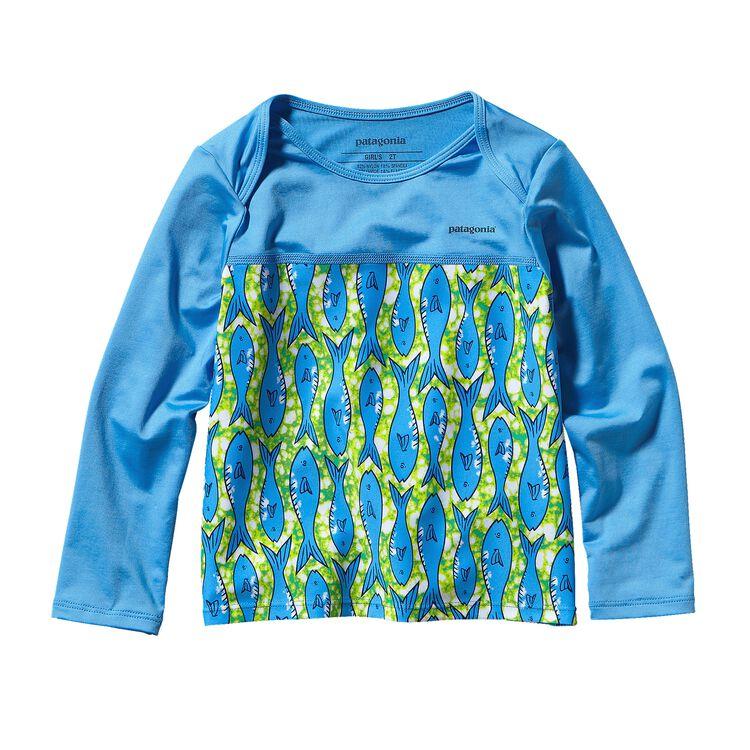 ベビー・リトル・ソル・ラッシュガード, Batik Fish: Skipper Blue (BASB)