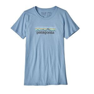W's Pastel P-6 Logo Cotton Crew, Railroad Blue (RBE)