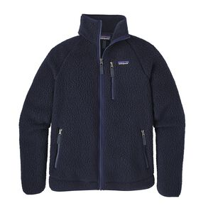M's Retro Pile Jacket, Navy Blue (NVYB)