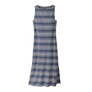 ウィメンズ・アンバー・ドーン・タンク・ドレス, Lightning Stripe: Dolomite Blue (LIDO)