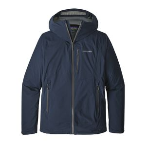 M's Stretch Rainshadow Jacket, Navy Blue w/Forge Grey (NAFG)