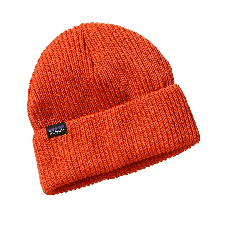 FISHERMANS ROLLED BEANIE, Cusco Orange (CUSO)