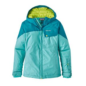 Girls' Fresh Tracks Jacket, Strait Blue (STRB)