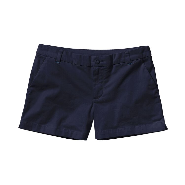 W'S STRETCH ALL-WEAR SHORTS - 4 IN., Navy Blue (NVYB)