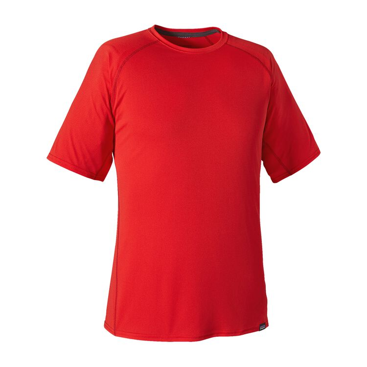 M'S CAP LW T-SHIRT, French Red (FRR)