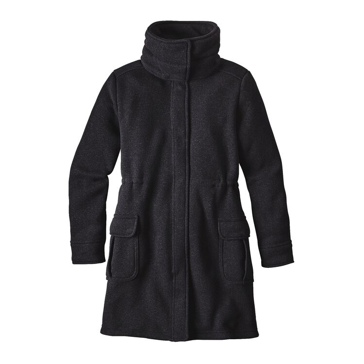 W'S BETTER SWEATER COAT, Black (BLK)