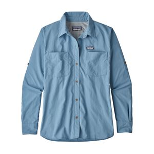 W's Long-Sleeved Anchor Bay Shirt, Railroad Blue (RBE)