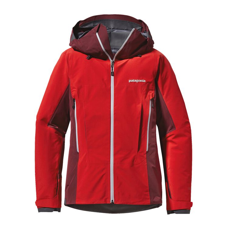 W'S SUPER ALPINE JKT, French Red (FRR)