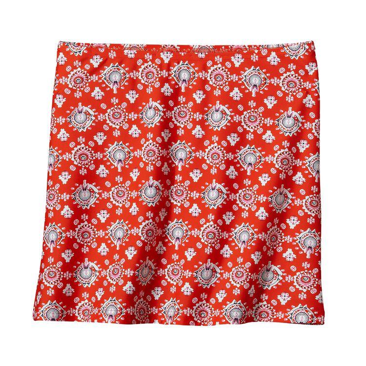 ウィメンズ・オーシャン・スカート, Indian Swim Bandana: Paintbrush Red (IWP-544)